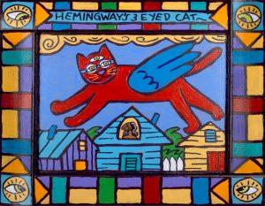 Hemingway 3 Eyed Cat